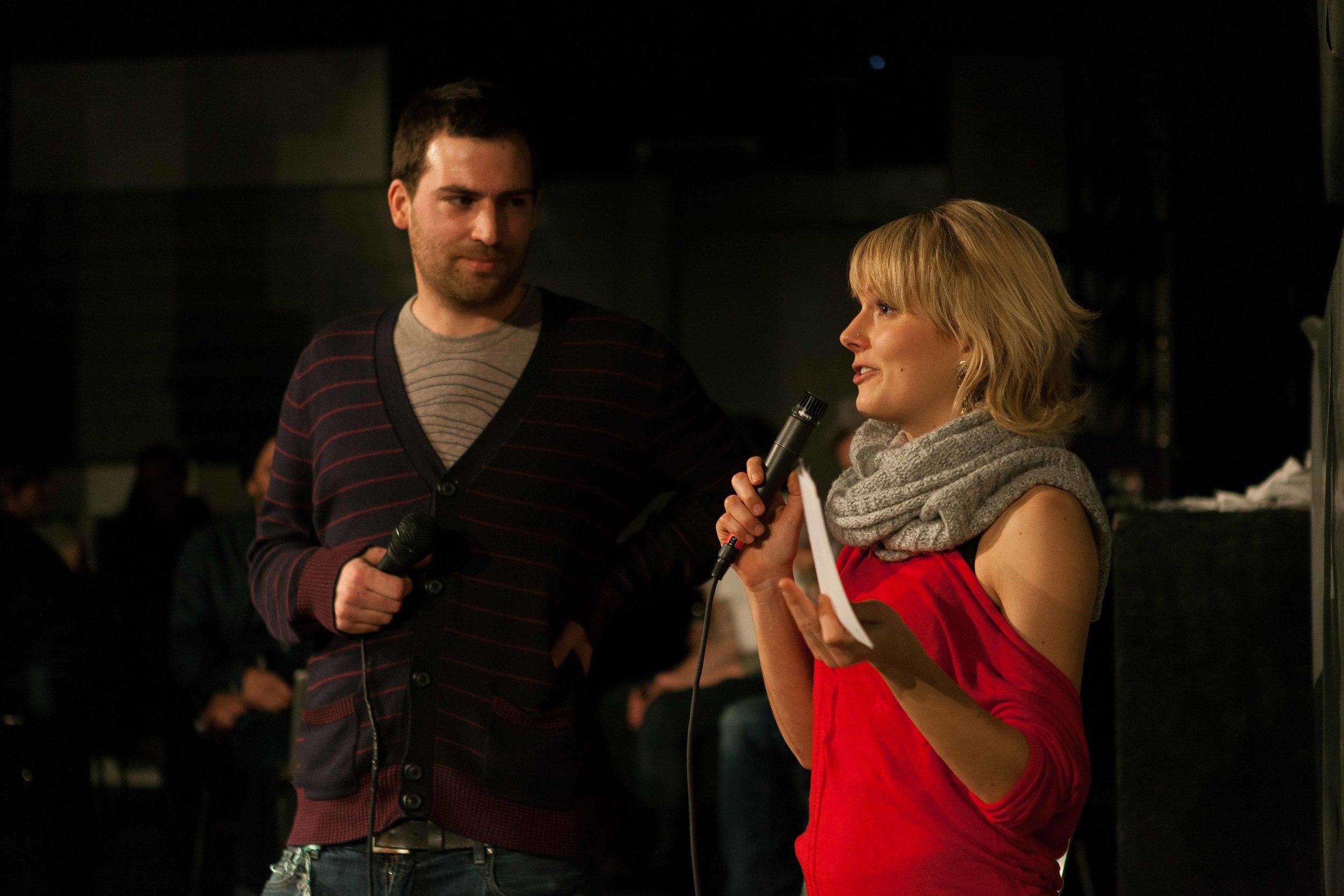 Feldermelder and Host Rosanna Grüter