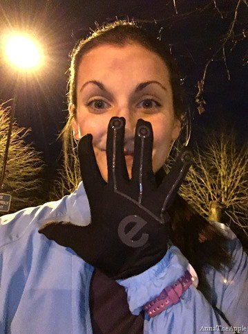Anna rocking the eGlove Sports!