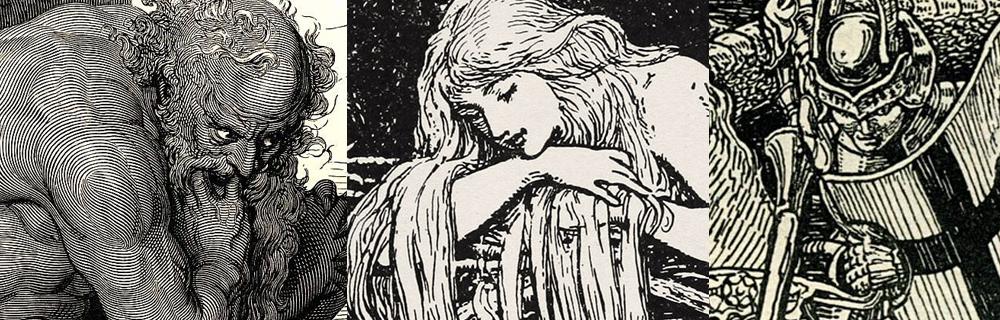 Gustave Doré, HJ Ford, Walter Crane
