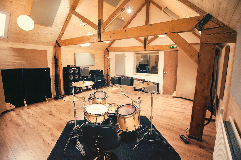 Brighton Road Recording Studios Big Live Room