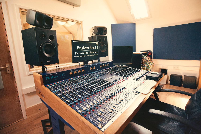 Brighton Road Recording Studios TL Audio VTC Console