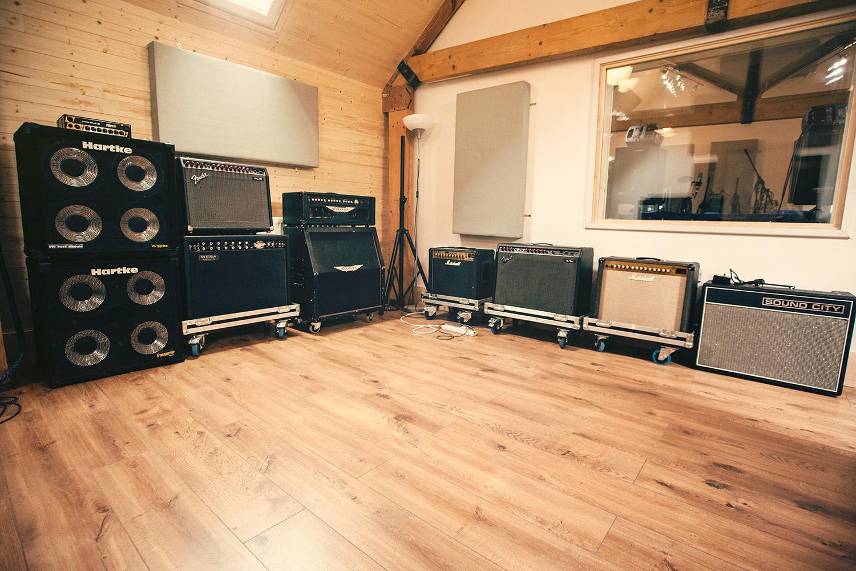 Brighton Road Recording Studios backline