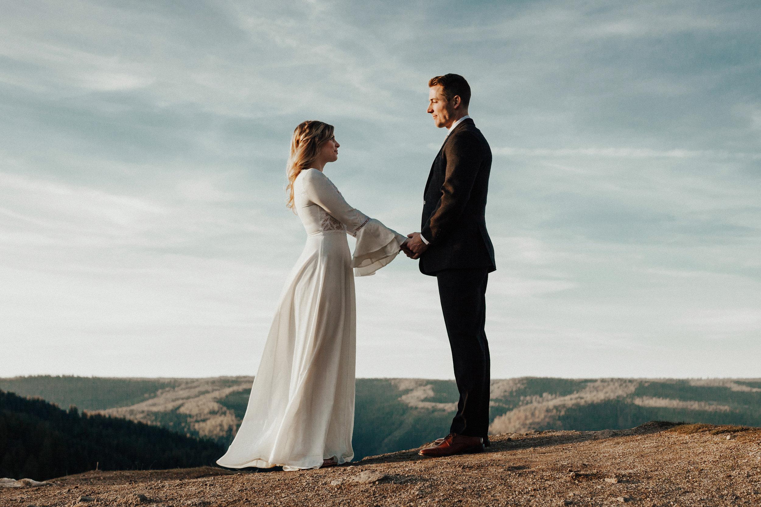 Adventurous california elopement