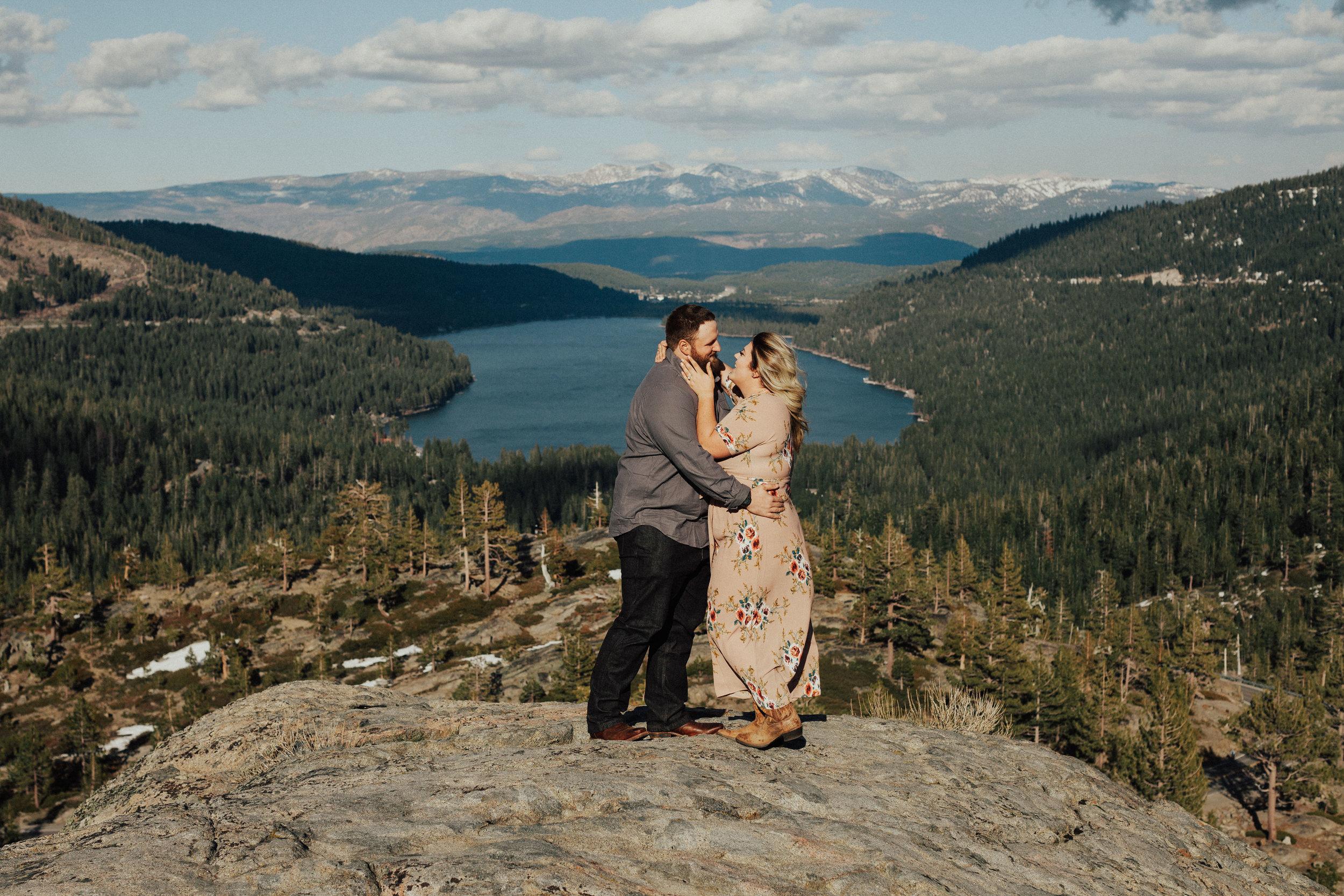 Donner Lake Engagement
