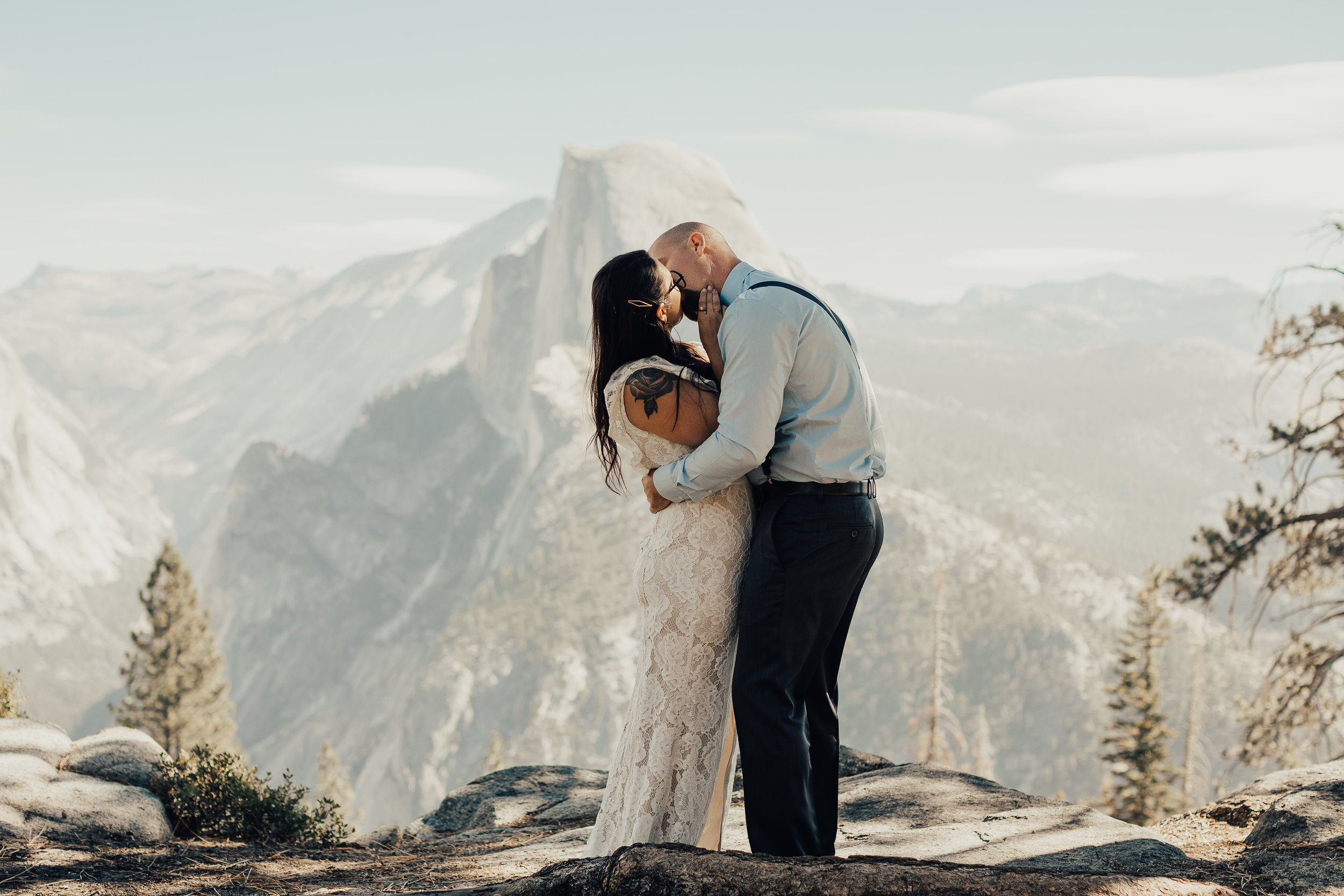 Yosemite Elopement at Half Dome