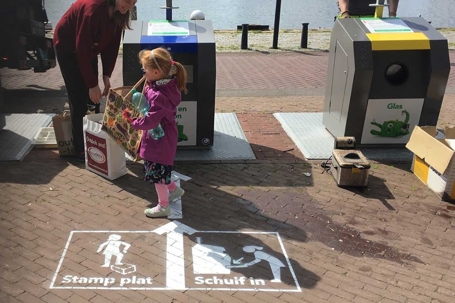Stamp plat, schuif in  campaign generates public awareness about modified carton containers.   Download evaluation report here  (Nederland)