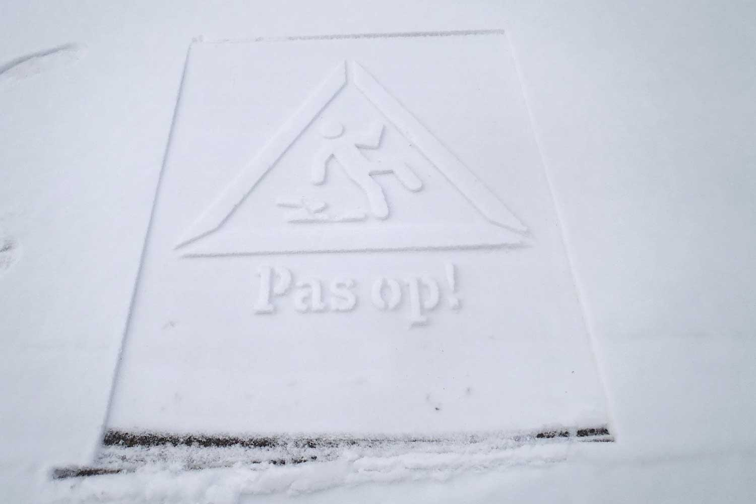 Copy of Snow stamping