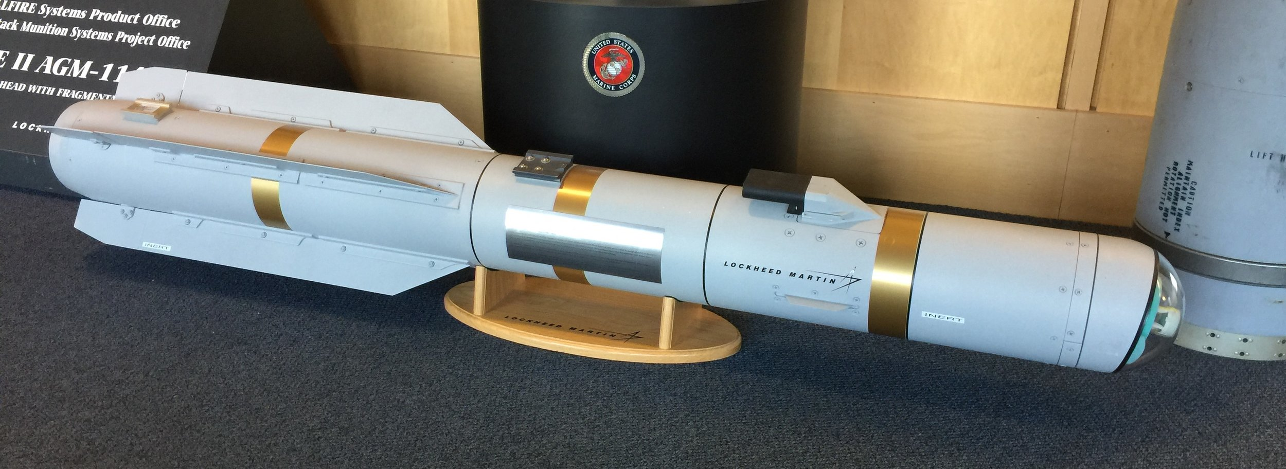 Lockheed Martin's operational JAGM-F and JAGM missile for helicopters, ships, and ground launch.