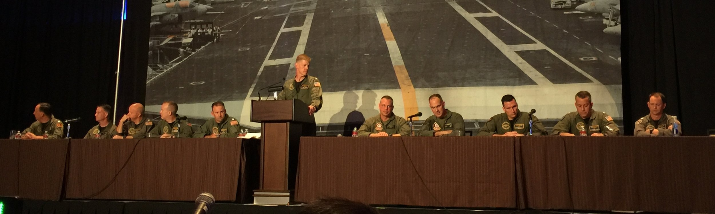 The OPNAV N98 Requirements Officers Panel was a highlight of Tailhook