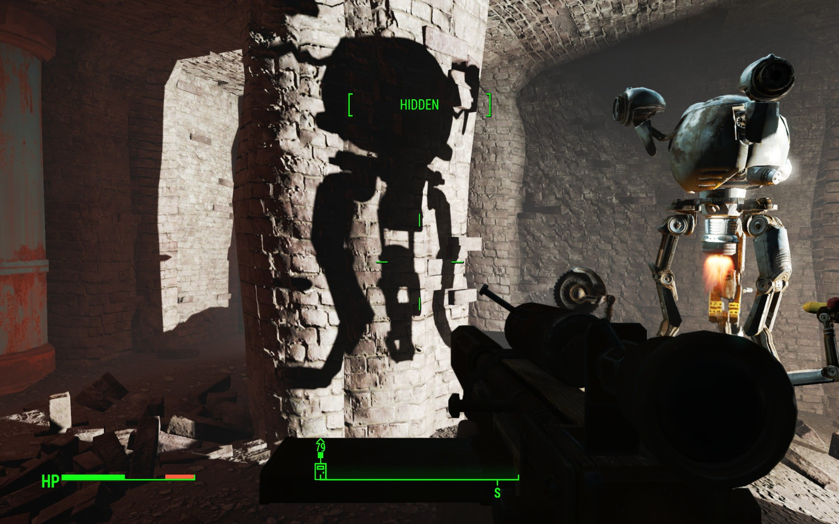 The real-time lighting and dynamic light sources have really been improved from Fallout 3