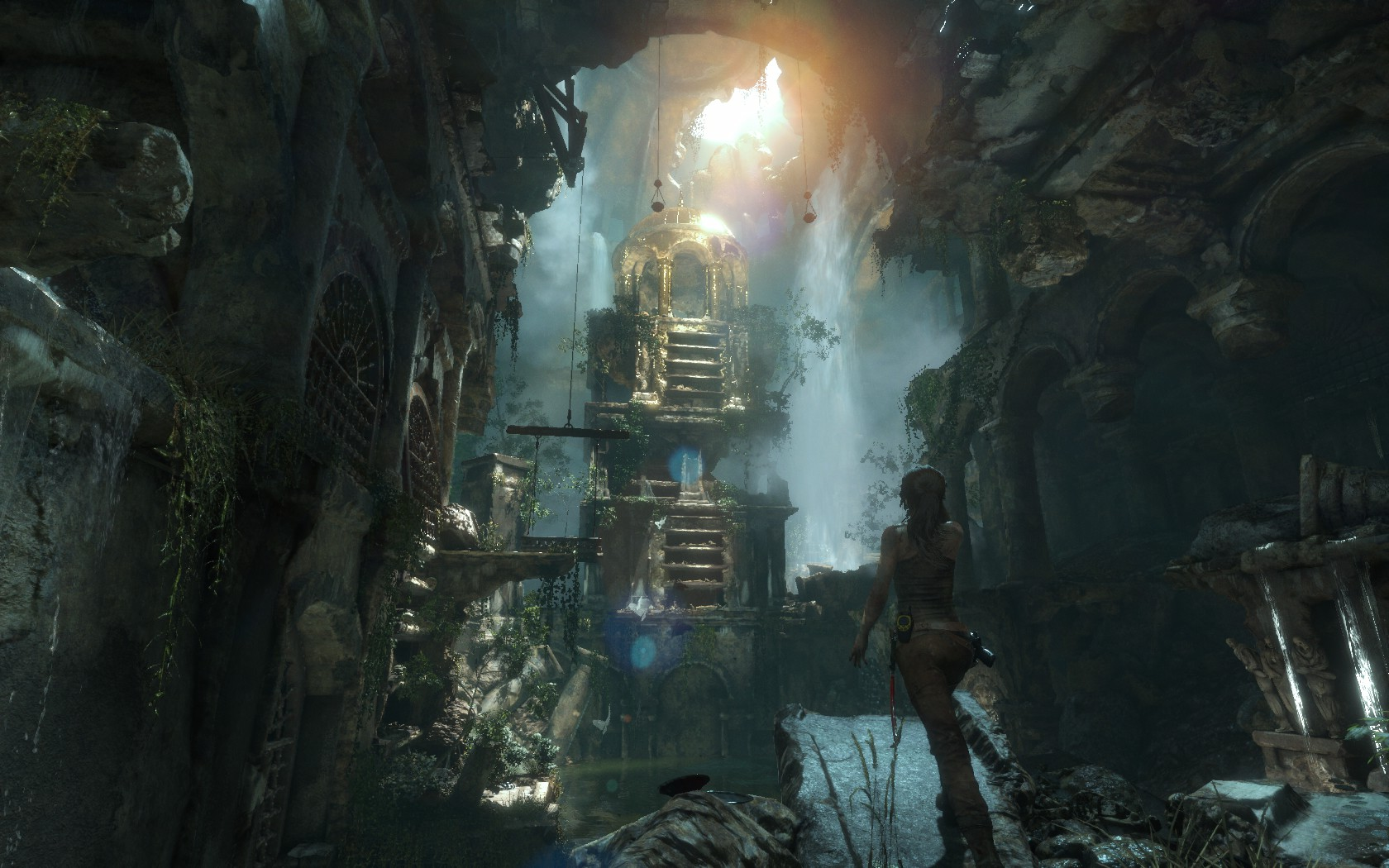 This is one of my best captures and really shows off the stunning environments in Tomb Raider