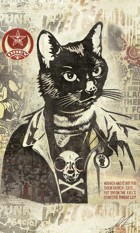 Radical Cat, HD C-Print, 36 x 60