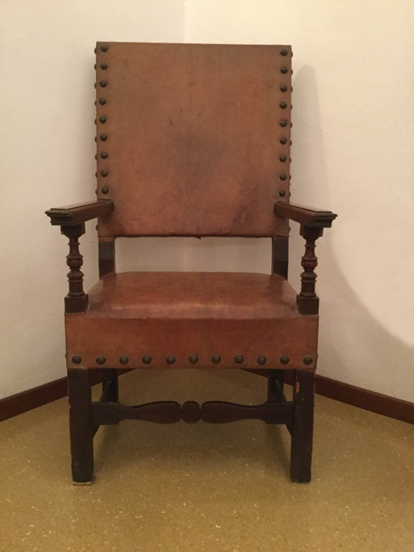 La sedia progettata da Lucia Starace - realizzazione