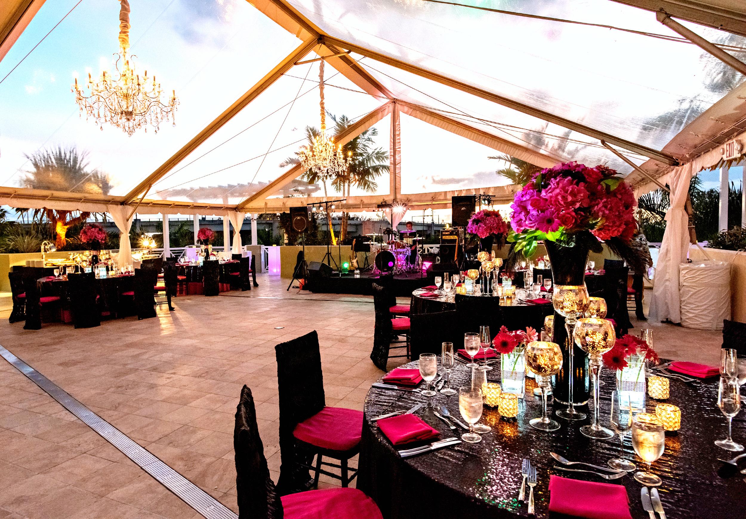 Wyndham Grand Jupiter Wedding Reception Decor