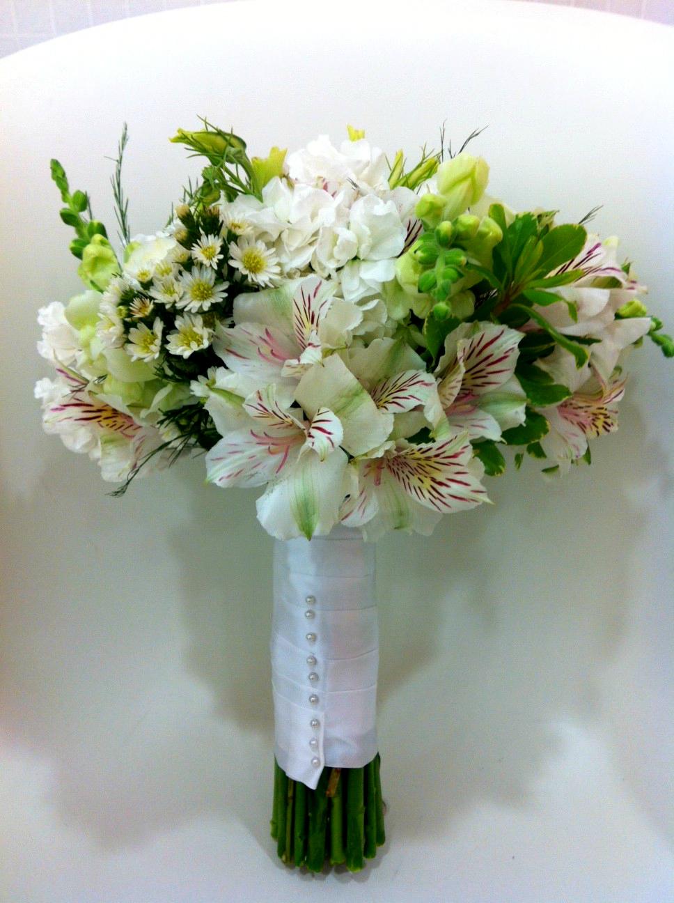Palm Beach Wedding Flowers | Beautiful Bridal Bouquet | Gerilyn Gianna Floral Design