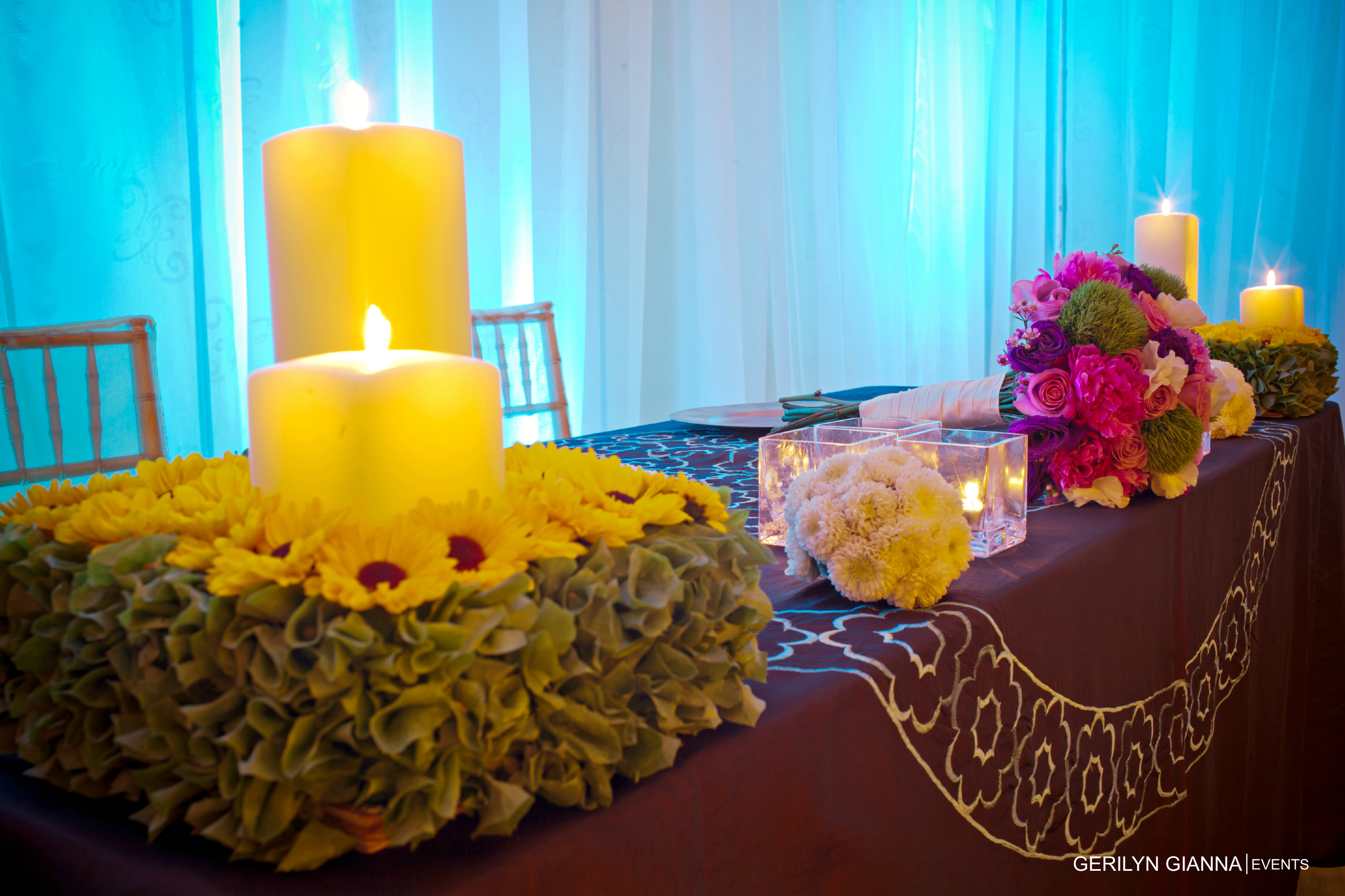 Low Floral Centerpieces | Gerilyn Gianna Event Design | Palm Beach Wedding and Event Flowers