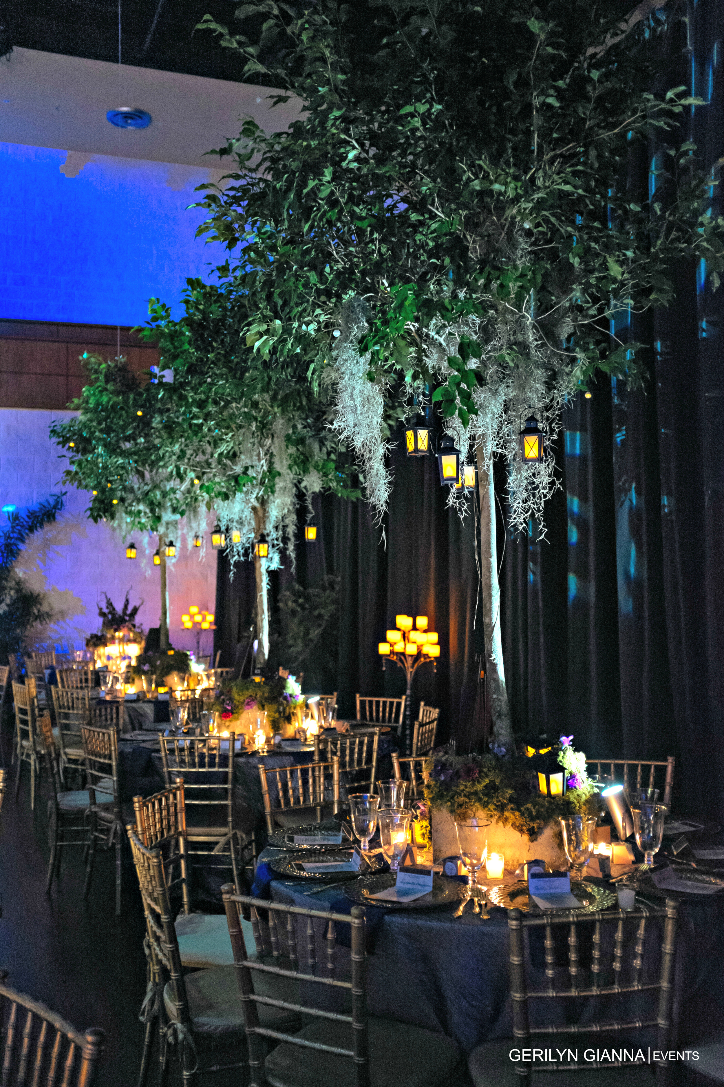 Wedding at The Borland Center for Performing Arts | Gerilyn Gianna Event and Floral Design