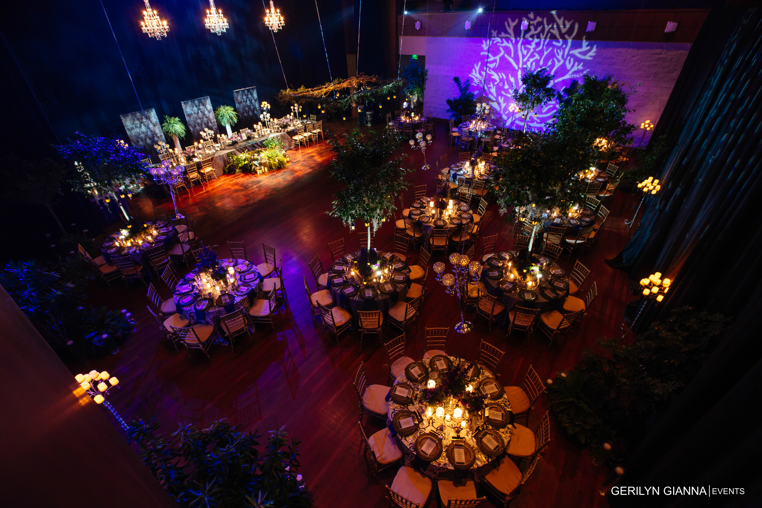 Gerilyn Gianna Event and Floral Design | Wedding at The Borland Center for Performing Arts | Medieval Wedding Theme | Robert Madrid Photography