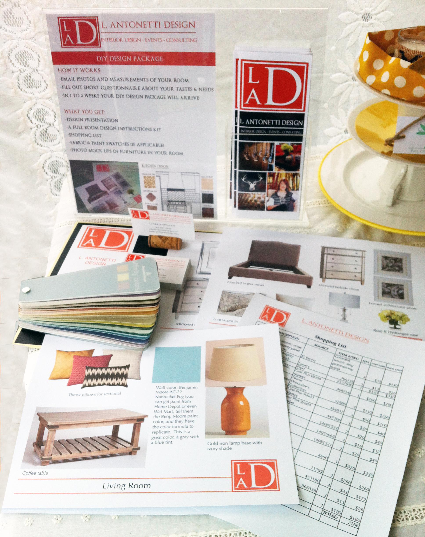 Example DIY design plan