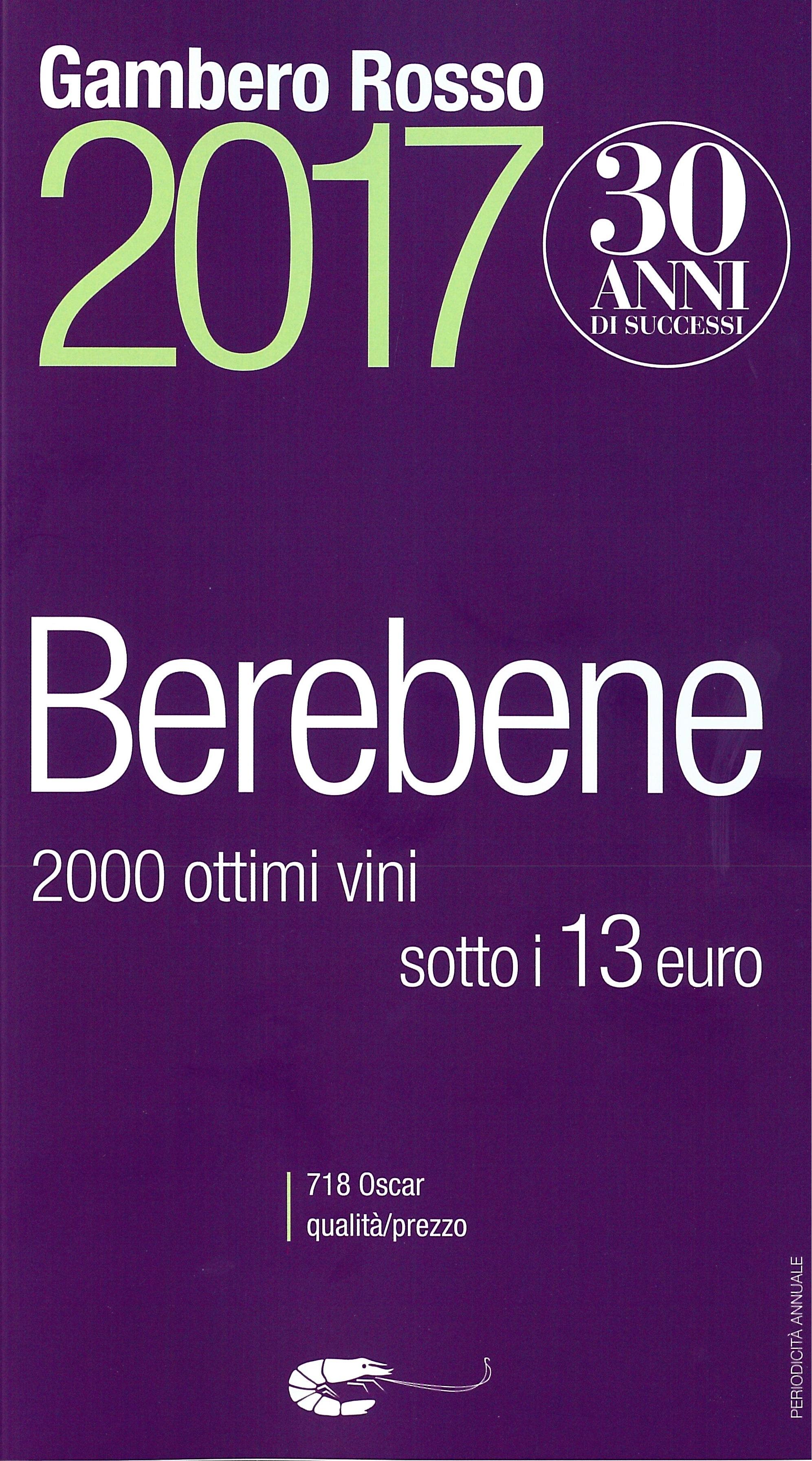 Gambero Rosso - Bere Bene Low Cost_2017_Cover.jpg