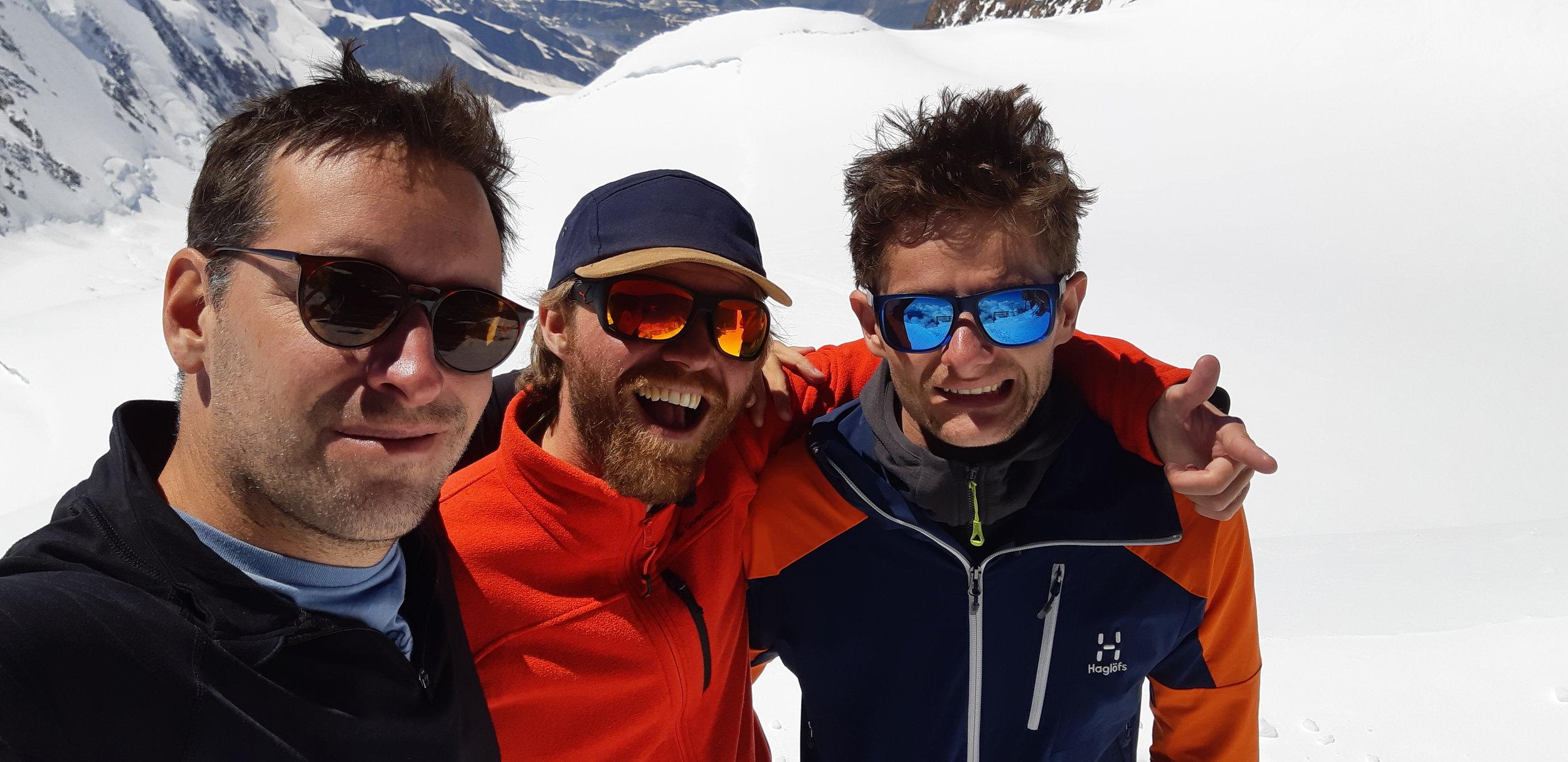Hugo, Jeremy et Charles