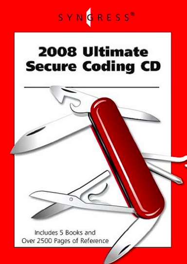 2008 Ultimate Secure coding CD.png