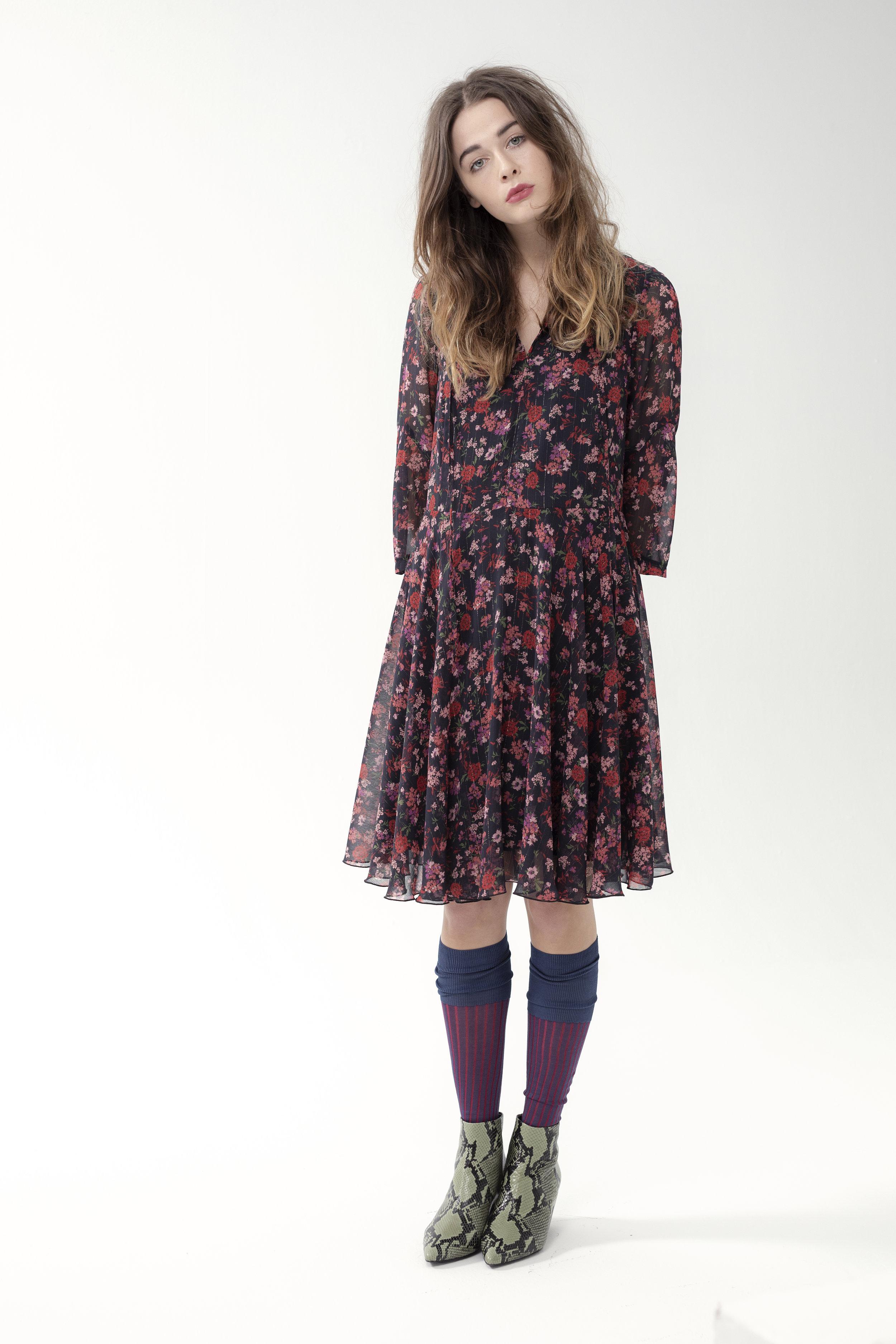 Dress CORNET - fleur