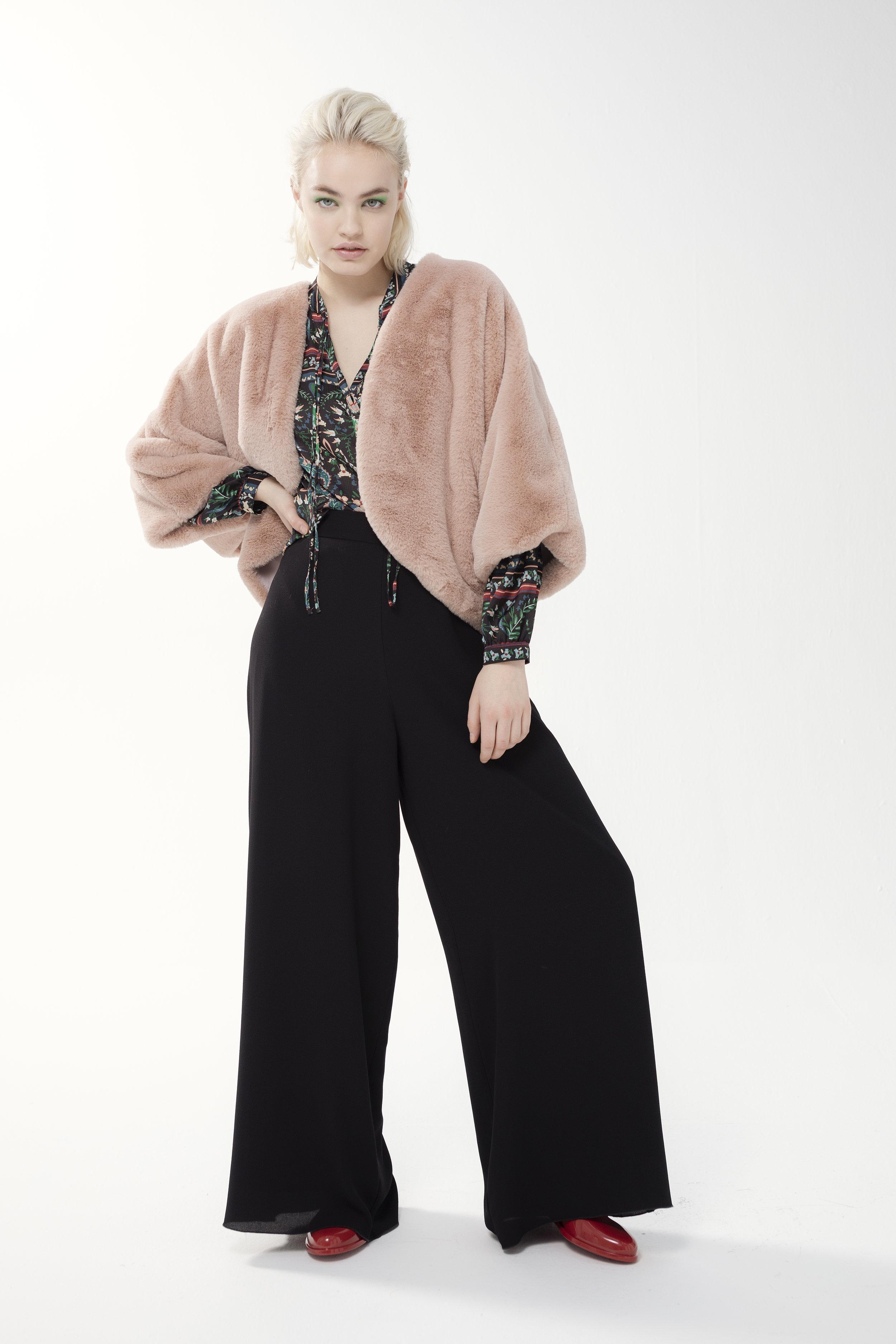 Shirt PISTACHE - etro | Jacket SWEET - soft | Trouser NOUGATINE - crepe