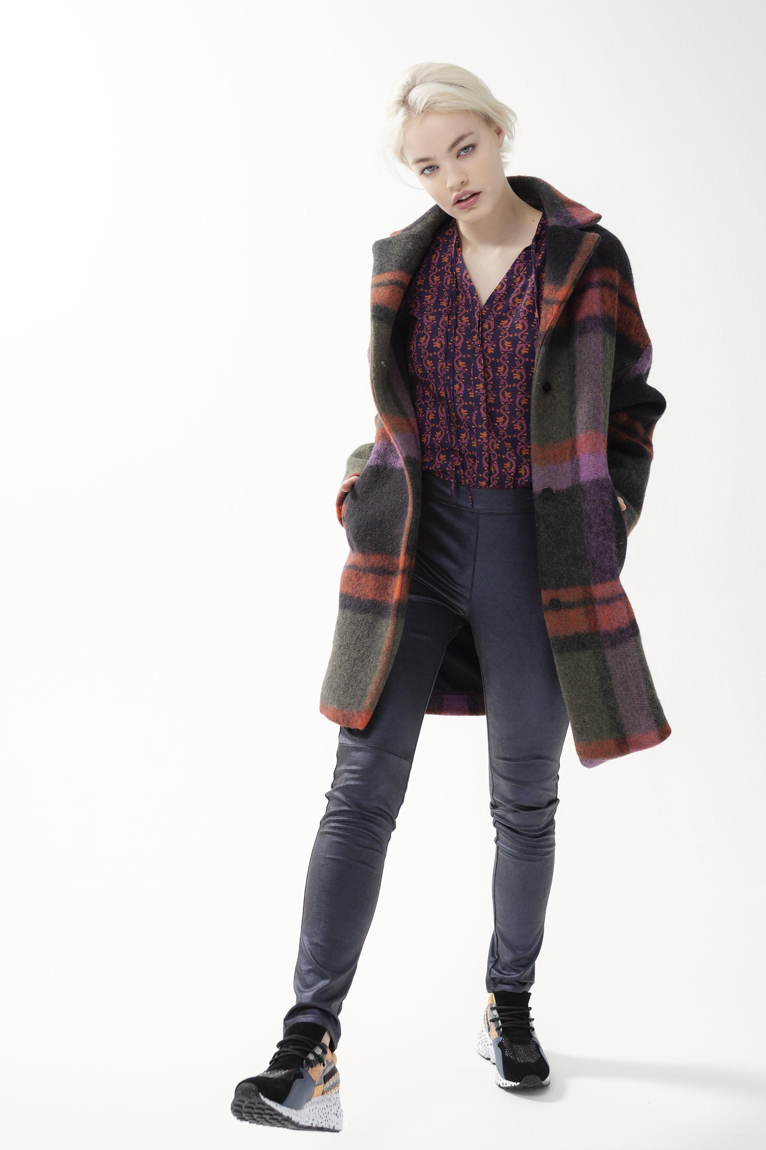 Shirt PISTACHE - drago | Jacket CHOCO - corcos | Trouser TROSSA - zamp