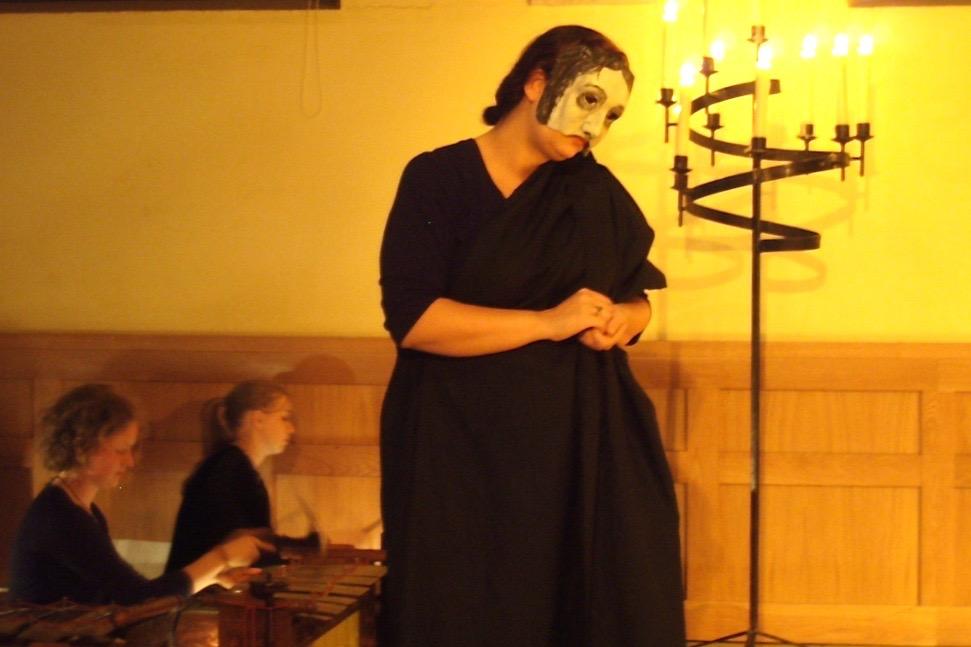 world premiere opera Antigone