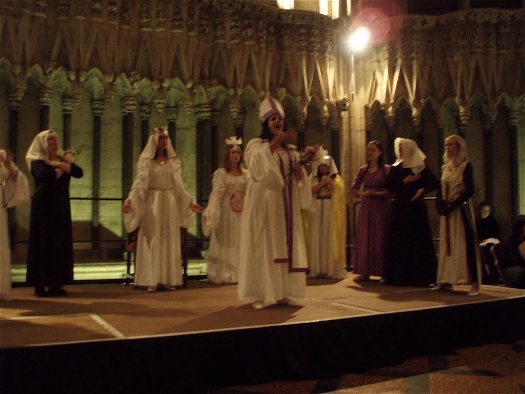 Ordo Virtutum in York Minster