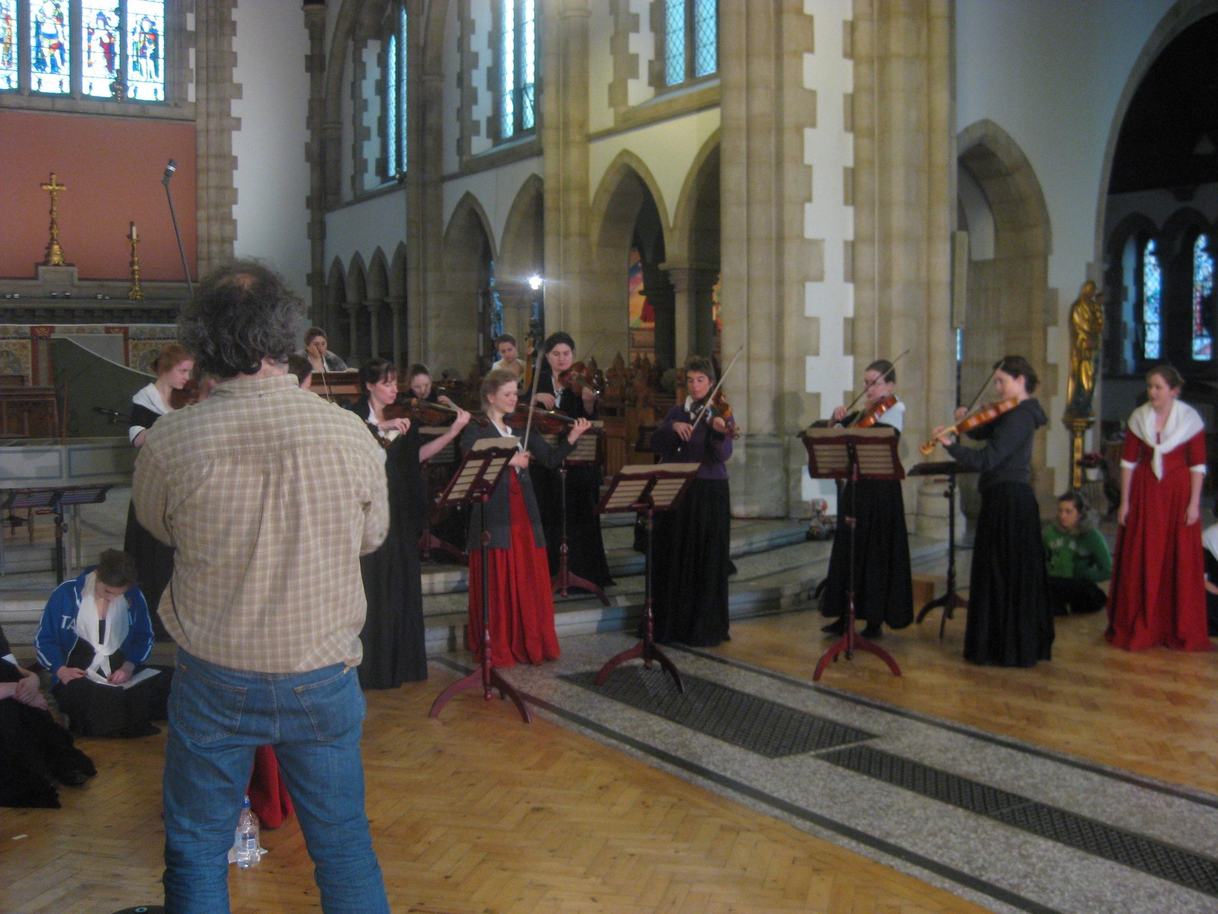 Vivaldi's Women: Filming Documentary