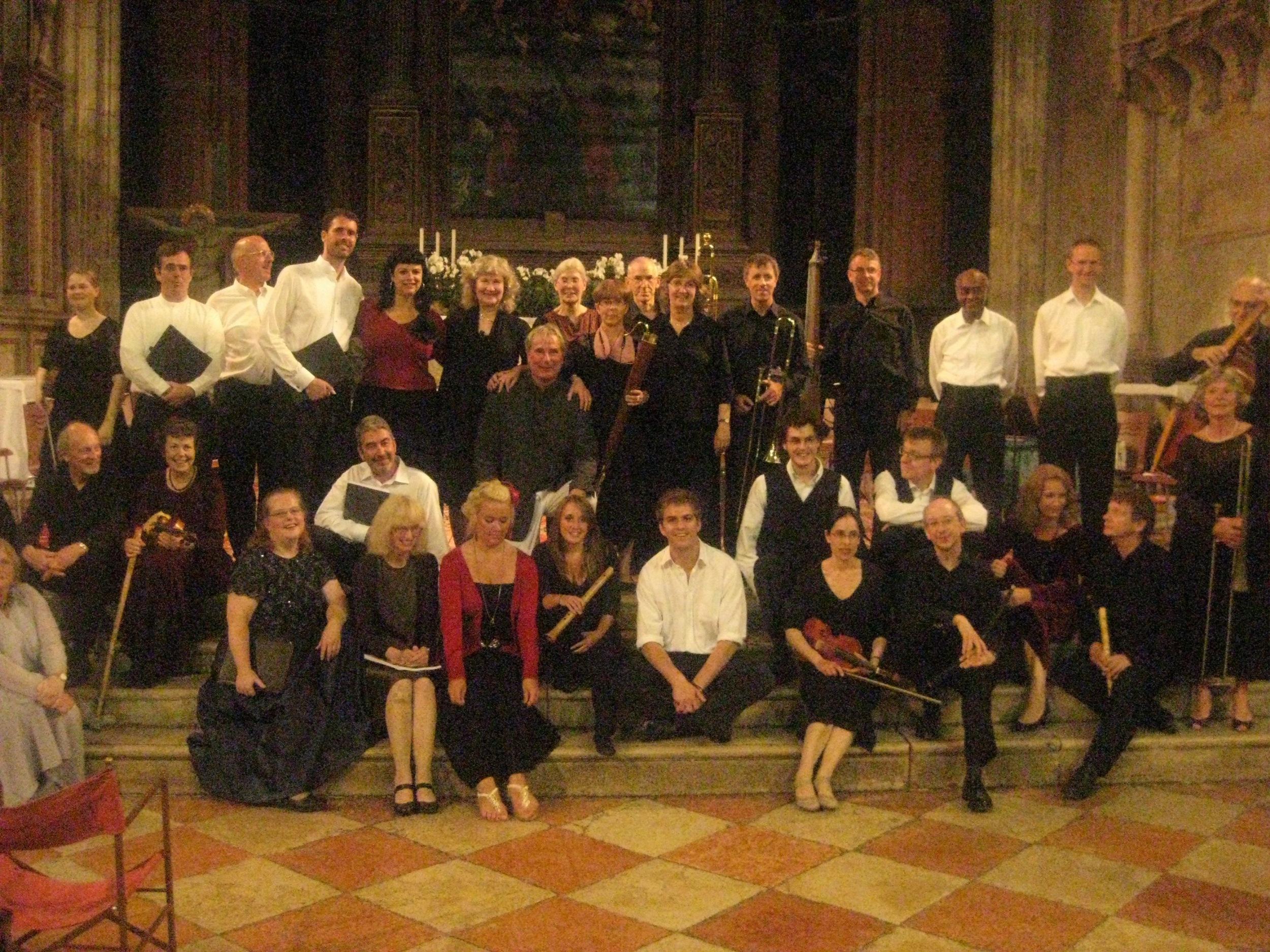 Venice: Monteverdi Vespers - the whole gang!