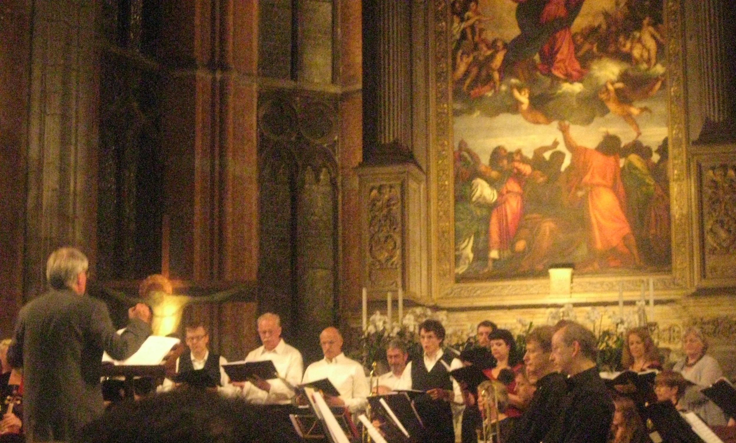 Venice's only anniversary performance of Monteverdi Vespers