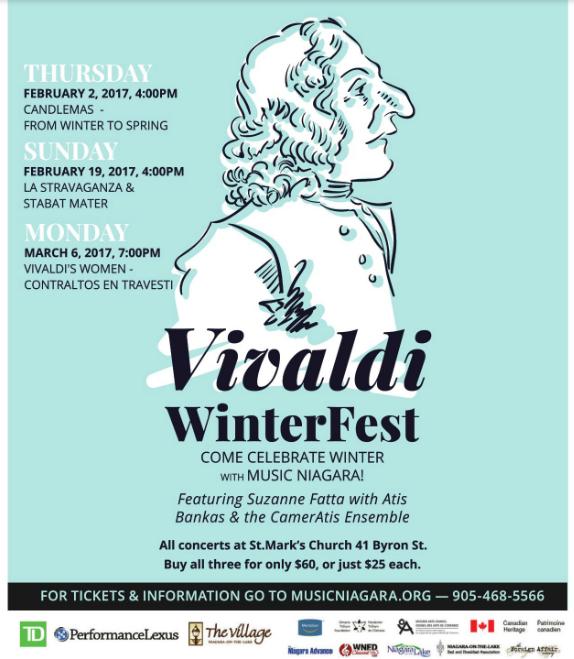 Music Niagara Vivaldi WinterFest