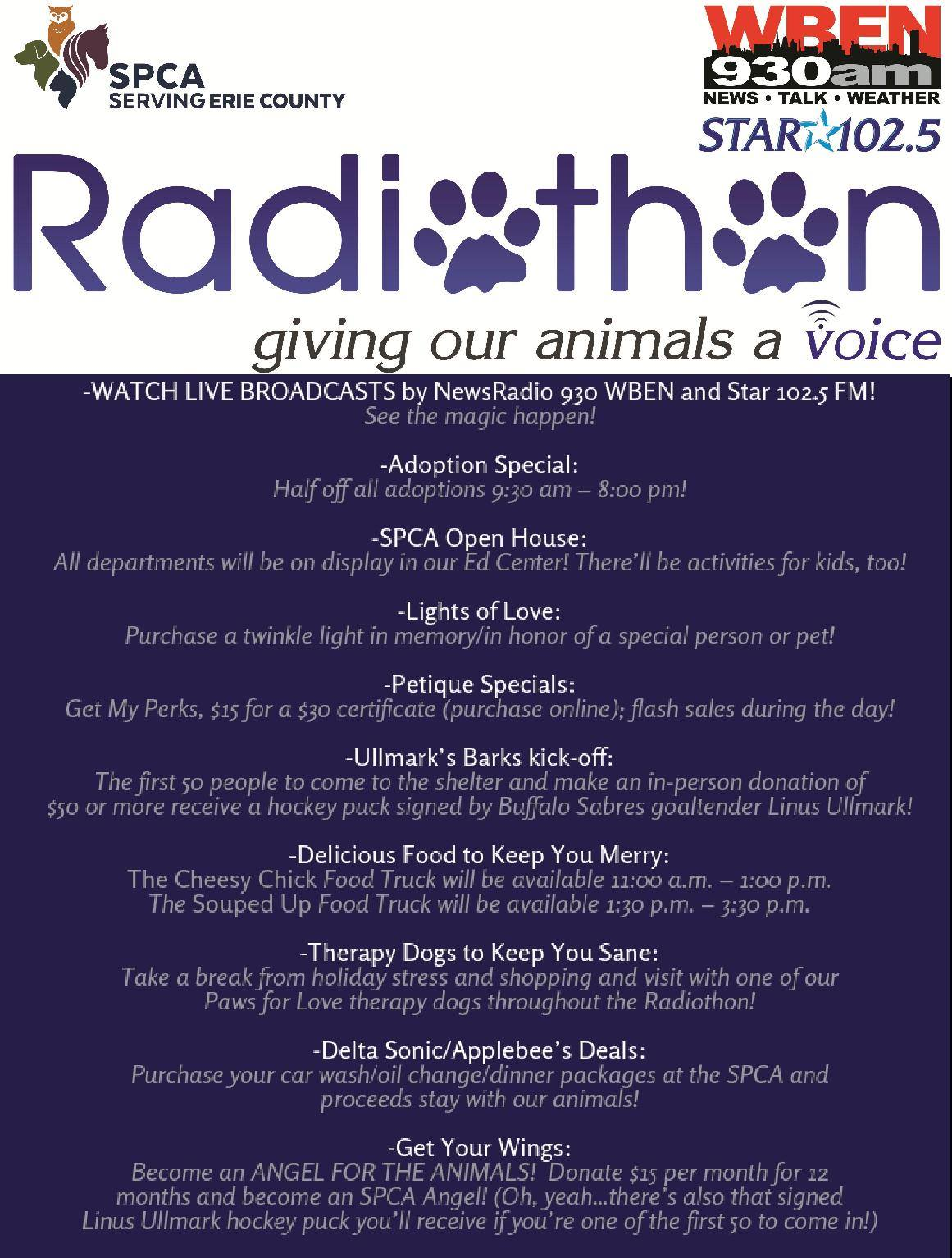 Click this image to learn more about THE 10 DAYS OF SPCA!