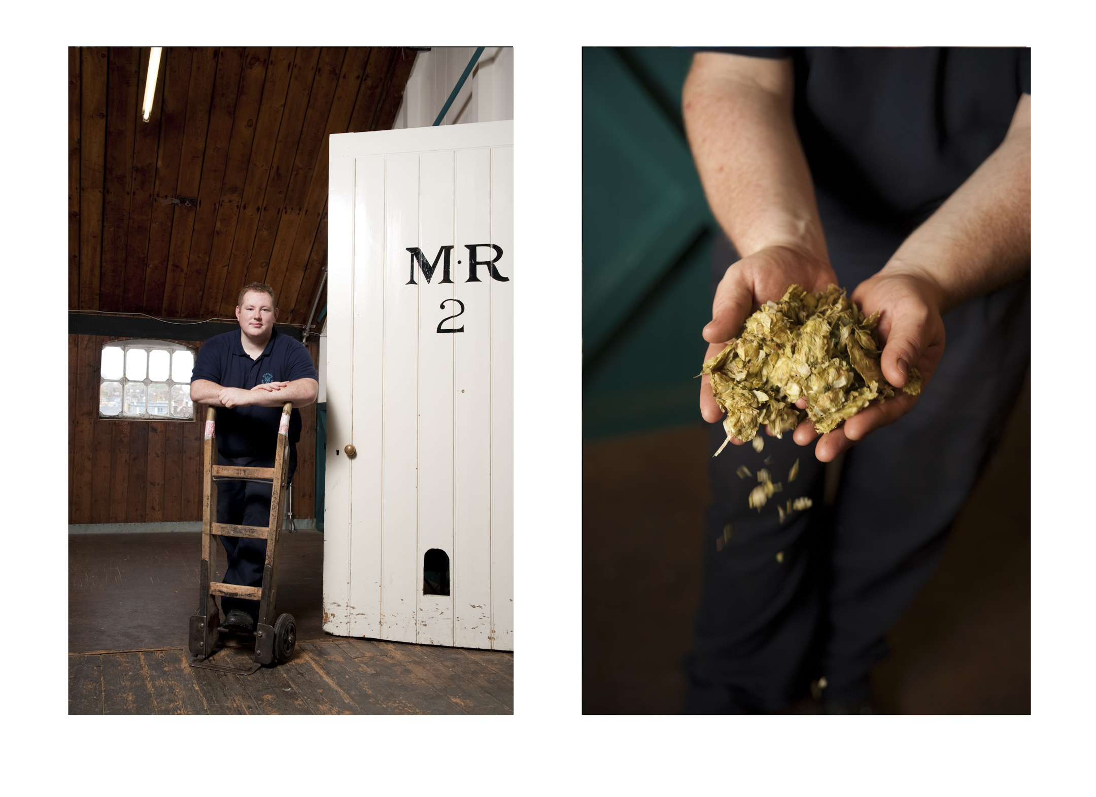 Jonathan Miller, Brewery Hand,  Harvey & Sons Ltd