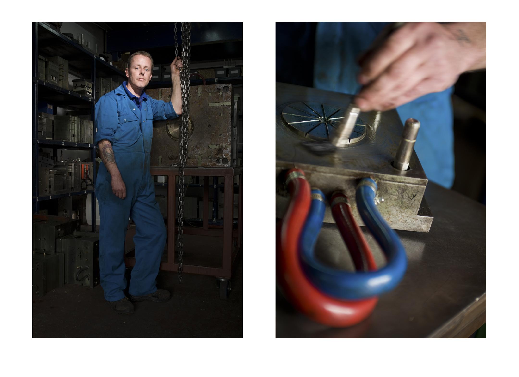 Jon King, Mouldshop Manager,  Essex Injection Mouldings