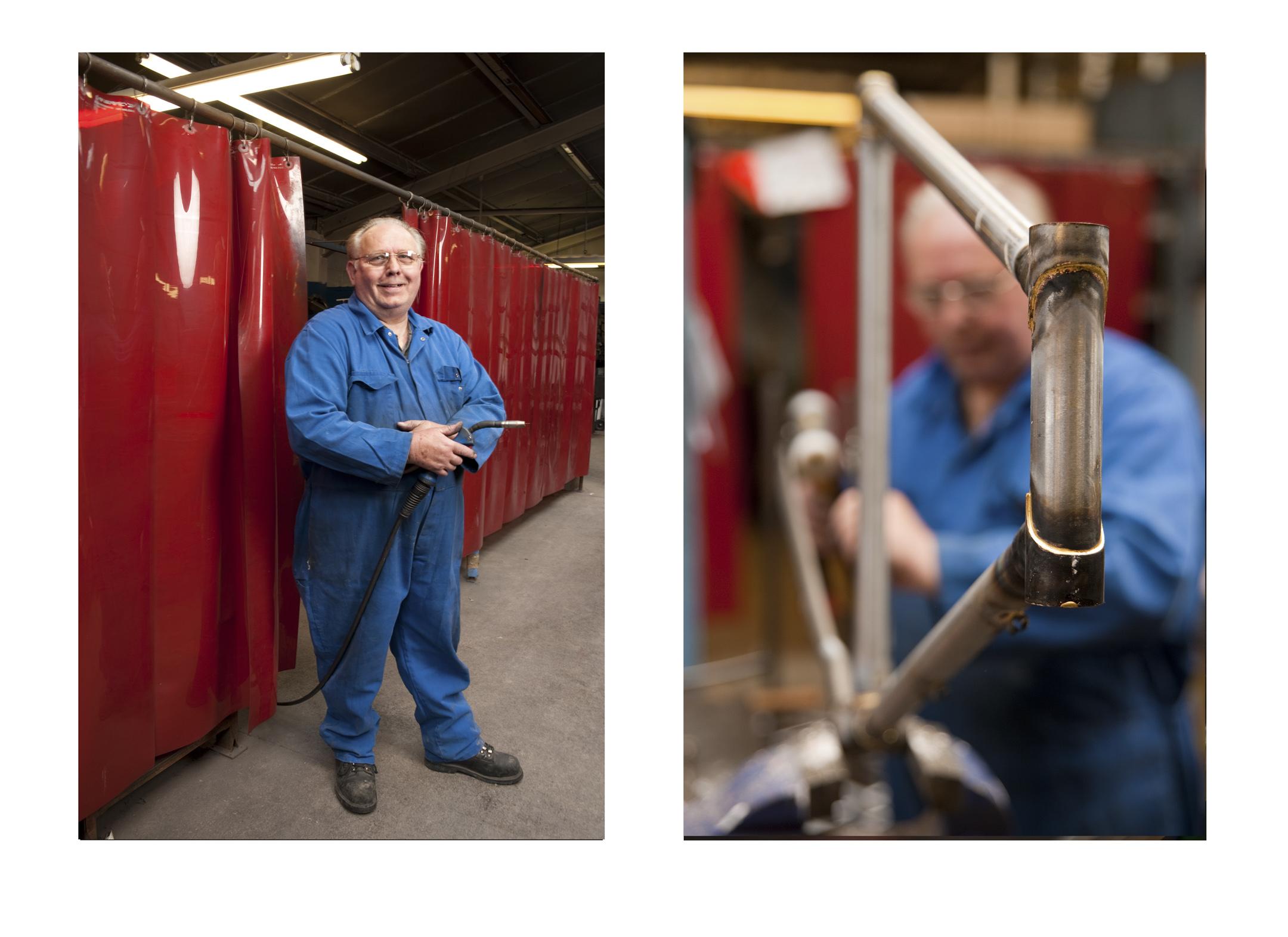 Frank Broadhurst, Welder/Brazer , Pashley Cycles