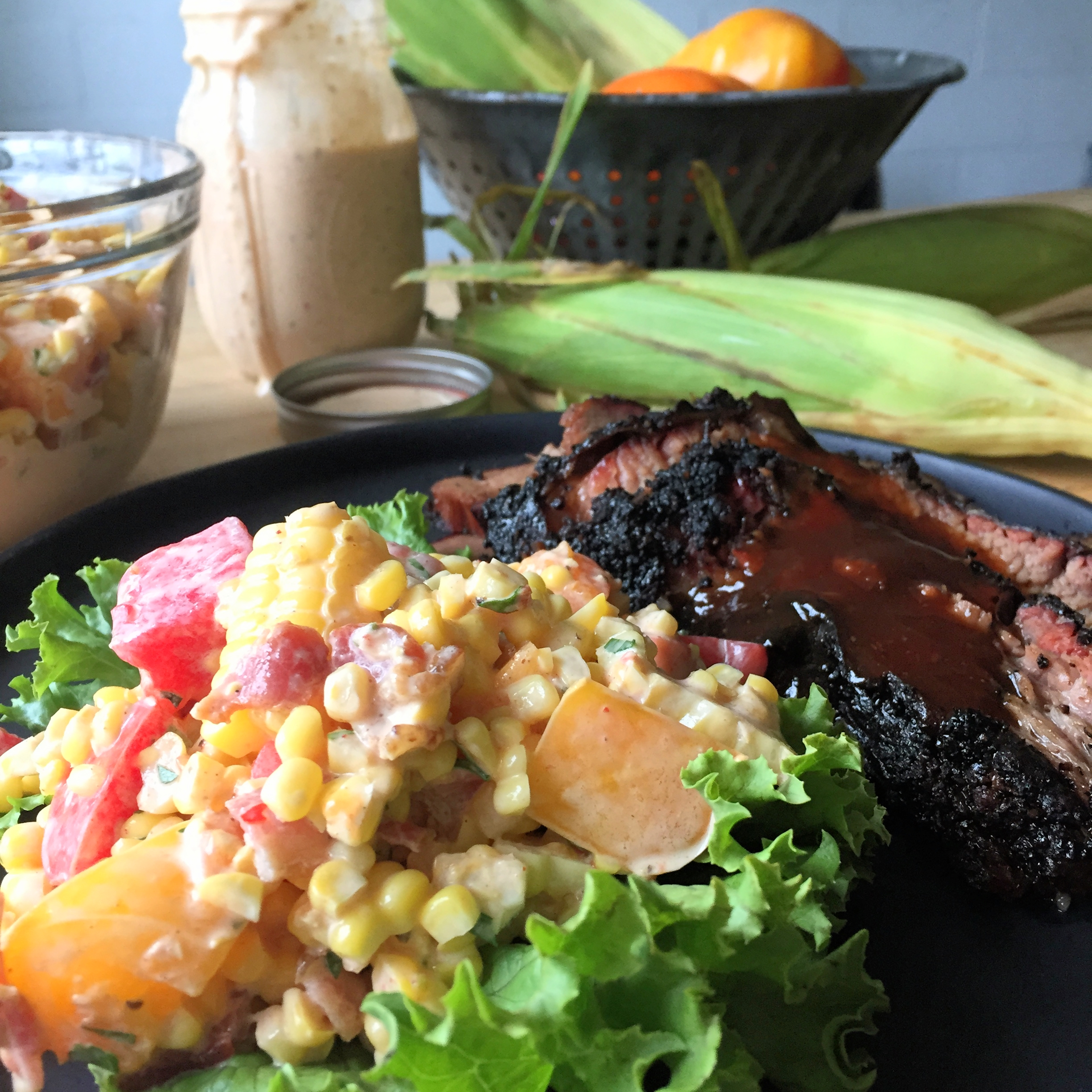 Summer Corn and Tomato Salad | Martin's Bar-B-Que Joint