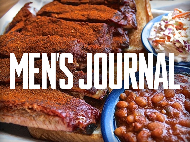Martin's Bar-B-Que Ribs featured in Men's Journal