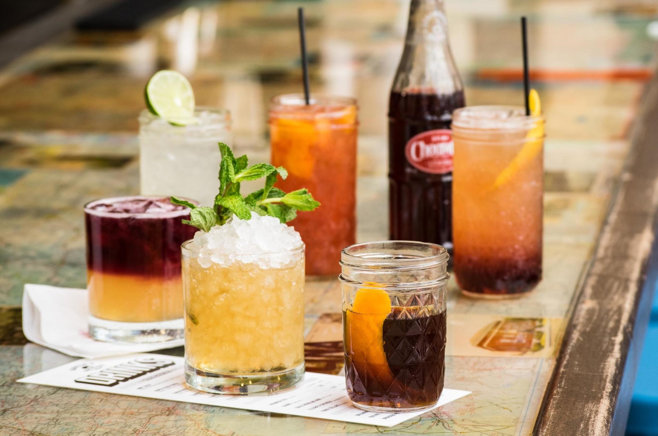 Martin's BBQ Nashville cocktails