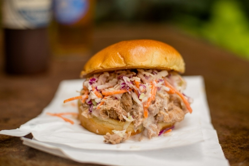 Martin's BBQ Pulled Pork Sandwich