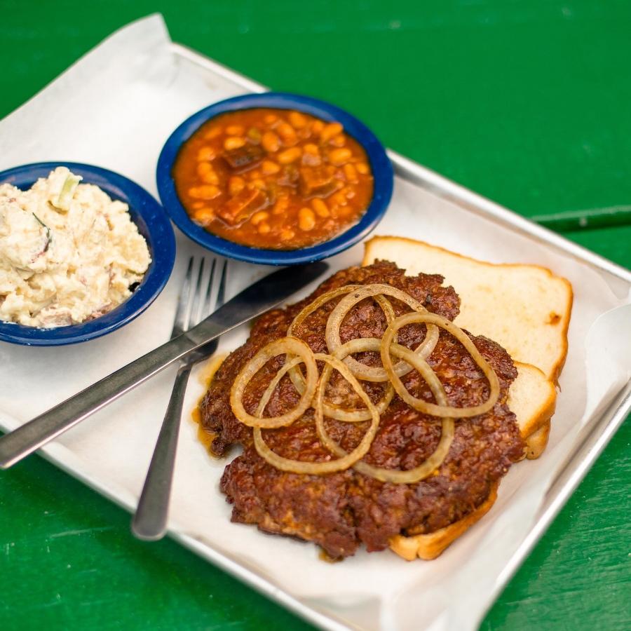 Martin's BBQ | Hamburger Steak