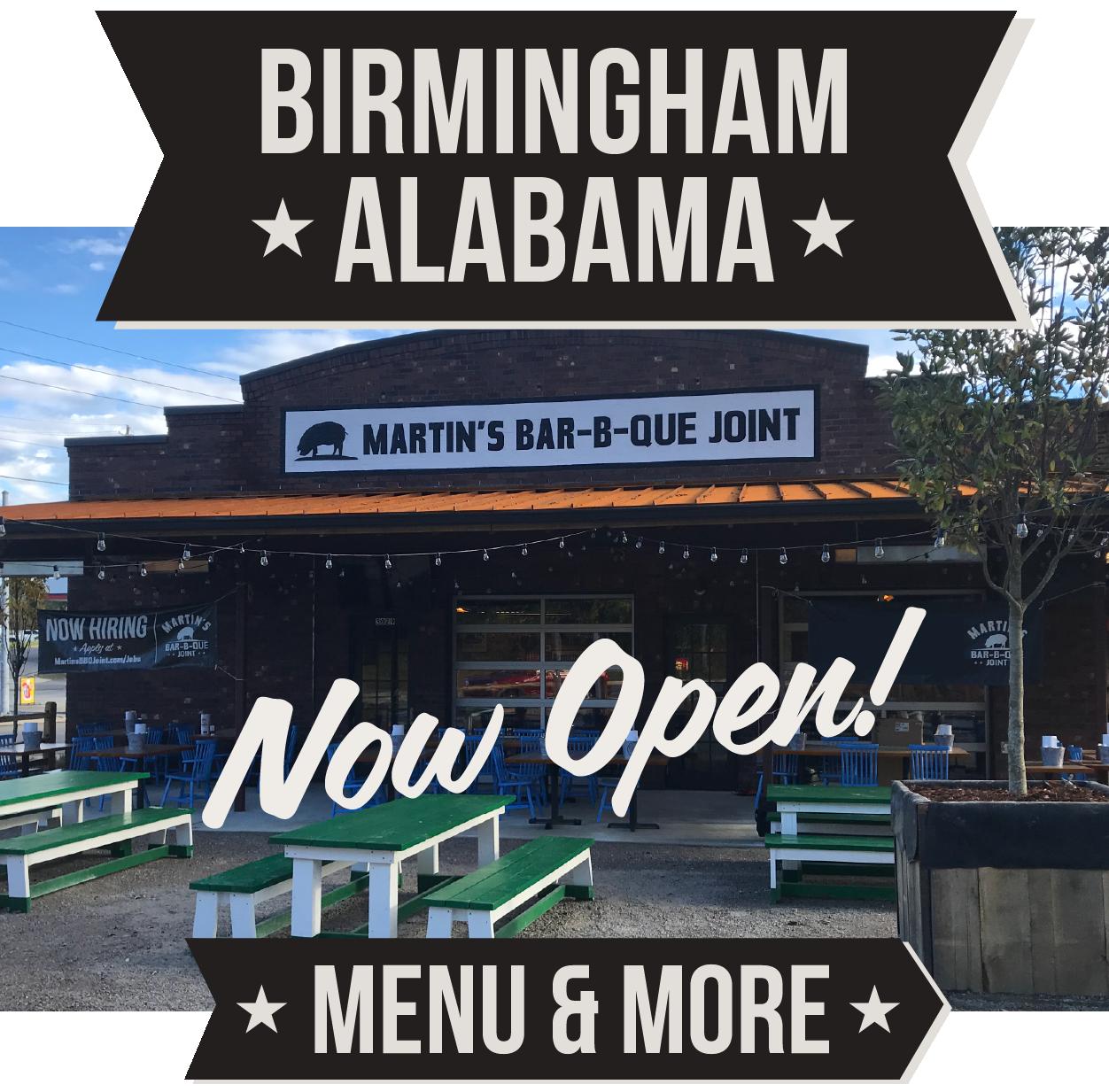Martin's BBQ Joint - Birmingham, Alabama