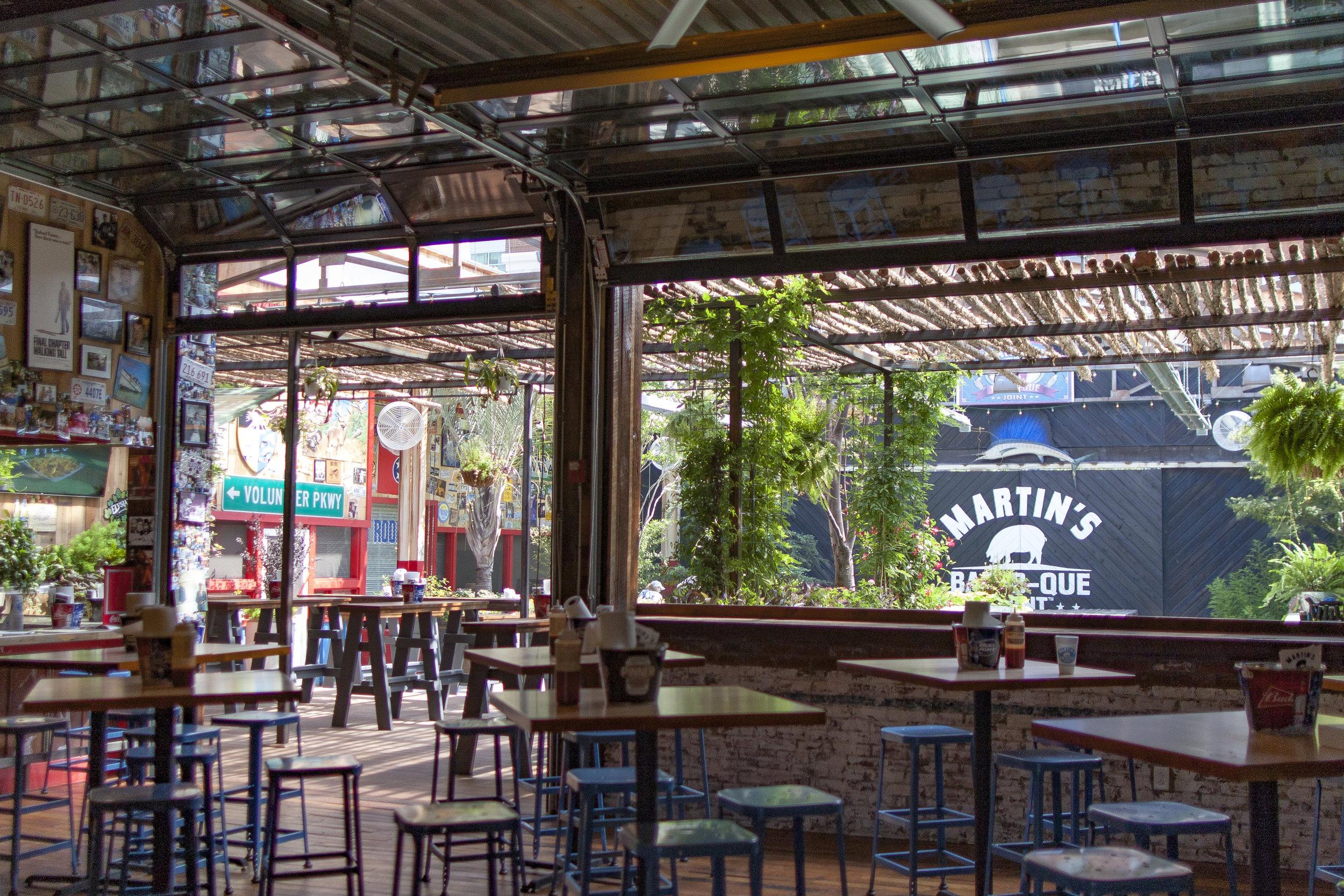 Martin's BBQ Beer Garden