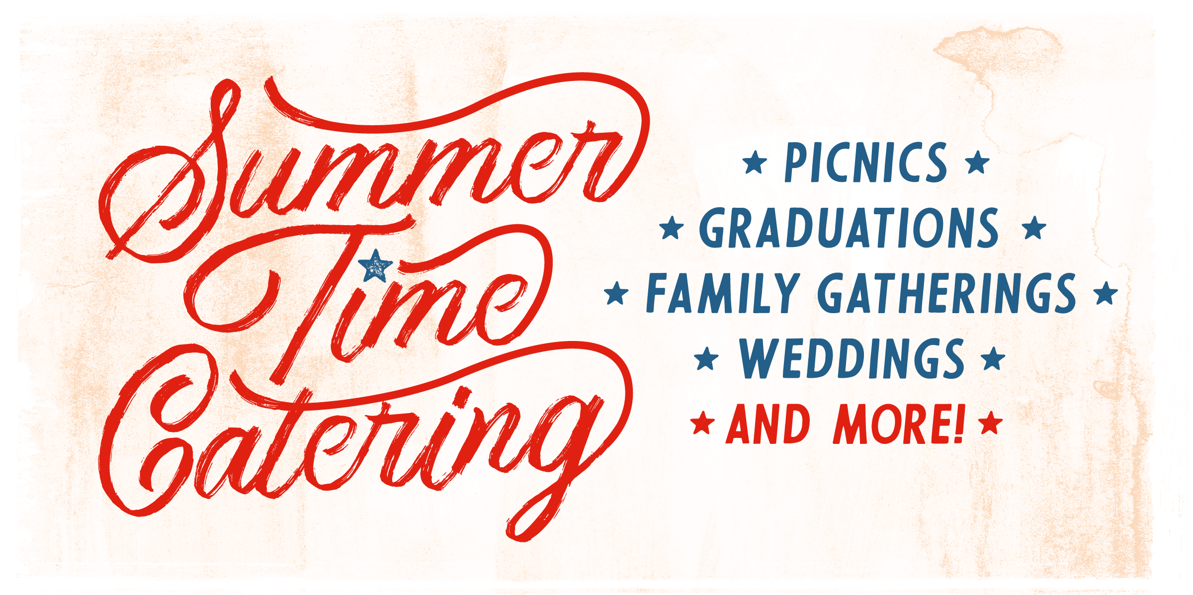 Summer Time Catering with Martin's Bar-B-Que Joint