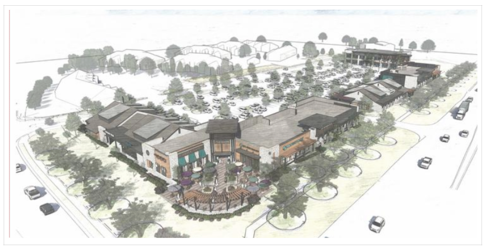 Birkdale Village South rendering