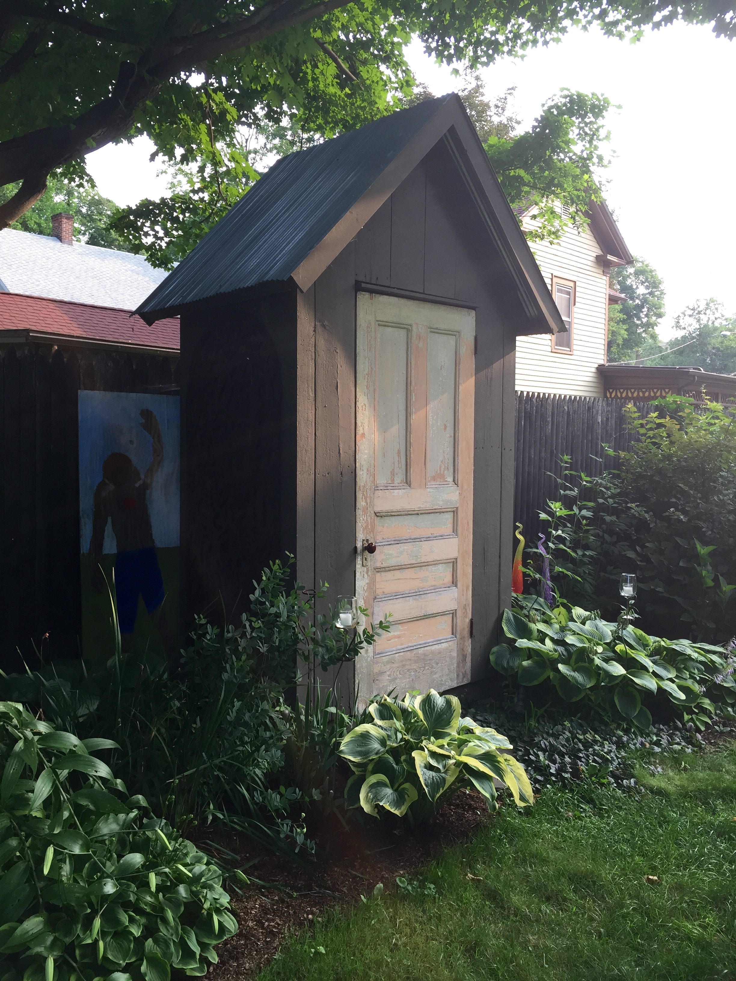 It's not an outhouse!!