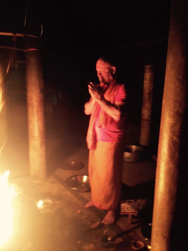 Havan in Kamakhya